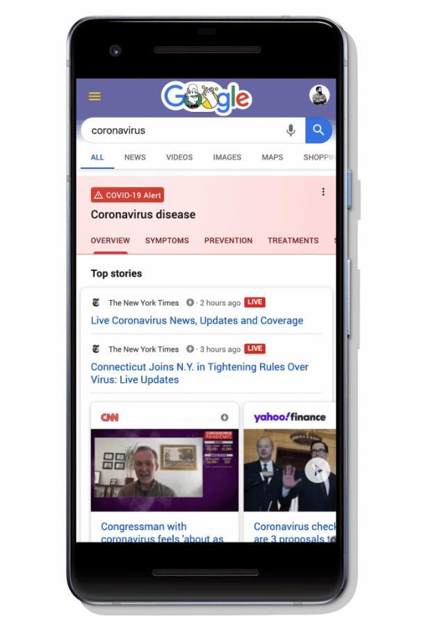 Google launches website for coronavirus info-cnTechPost