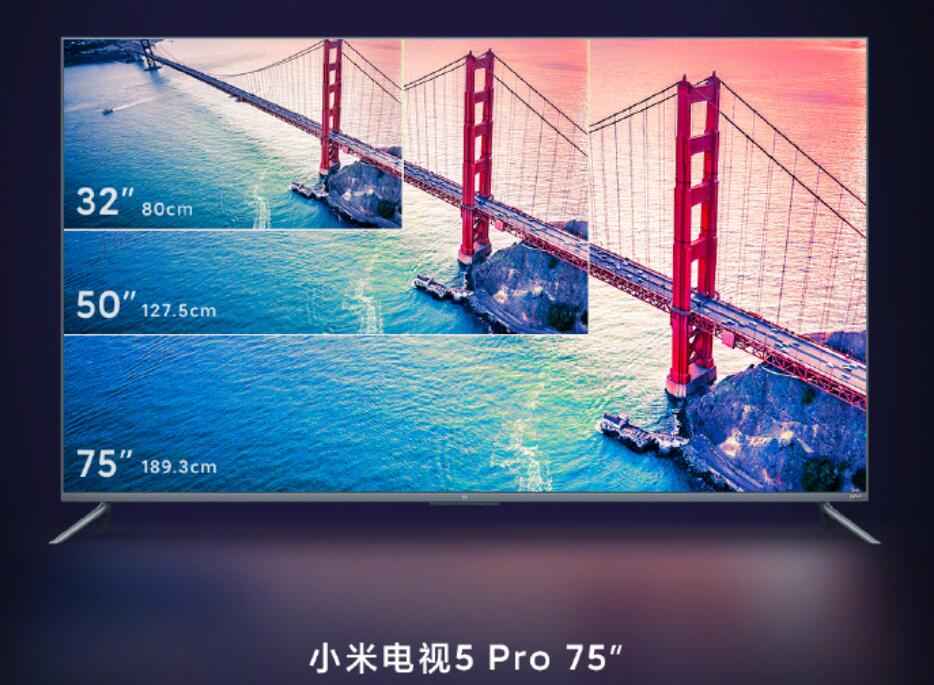 75-inch Xiaomi TV 5 Pro will be available on March 13 for about $1440-cnTechPost