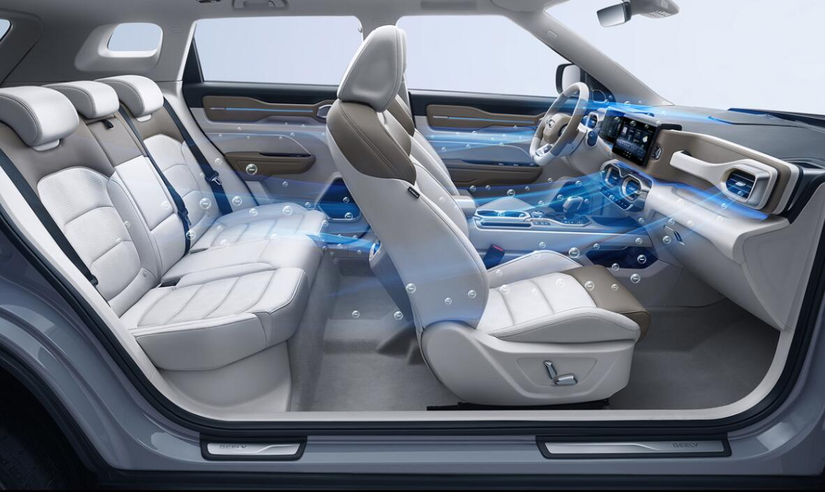 Geely announces 'Healthy Car' project plan-cnEVpost