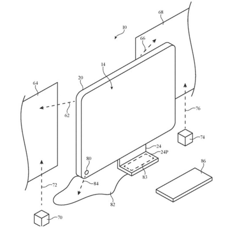 Apple patent shows future iMac may come with projector function-cnTechPost