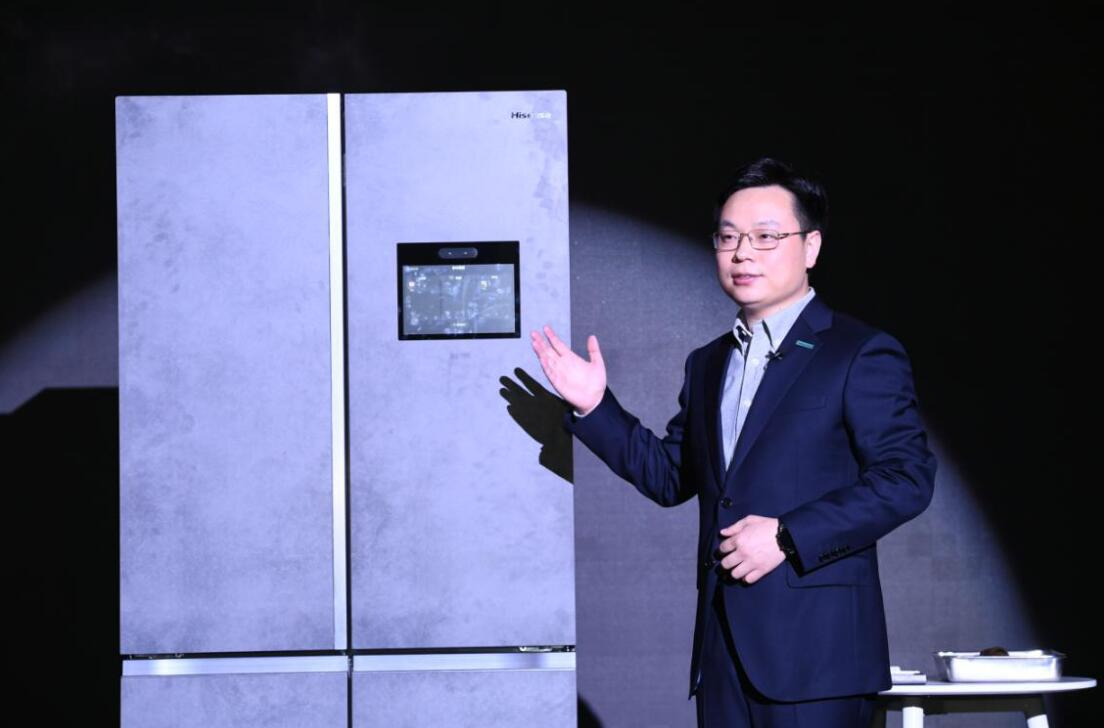 Hisense releases a refrigerator that can help you manage your food inventory-cnTechPost
