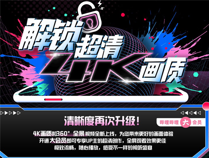 China's YouTube Bilibili begins to provide 4K quality video to some members-CnTechPost