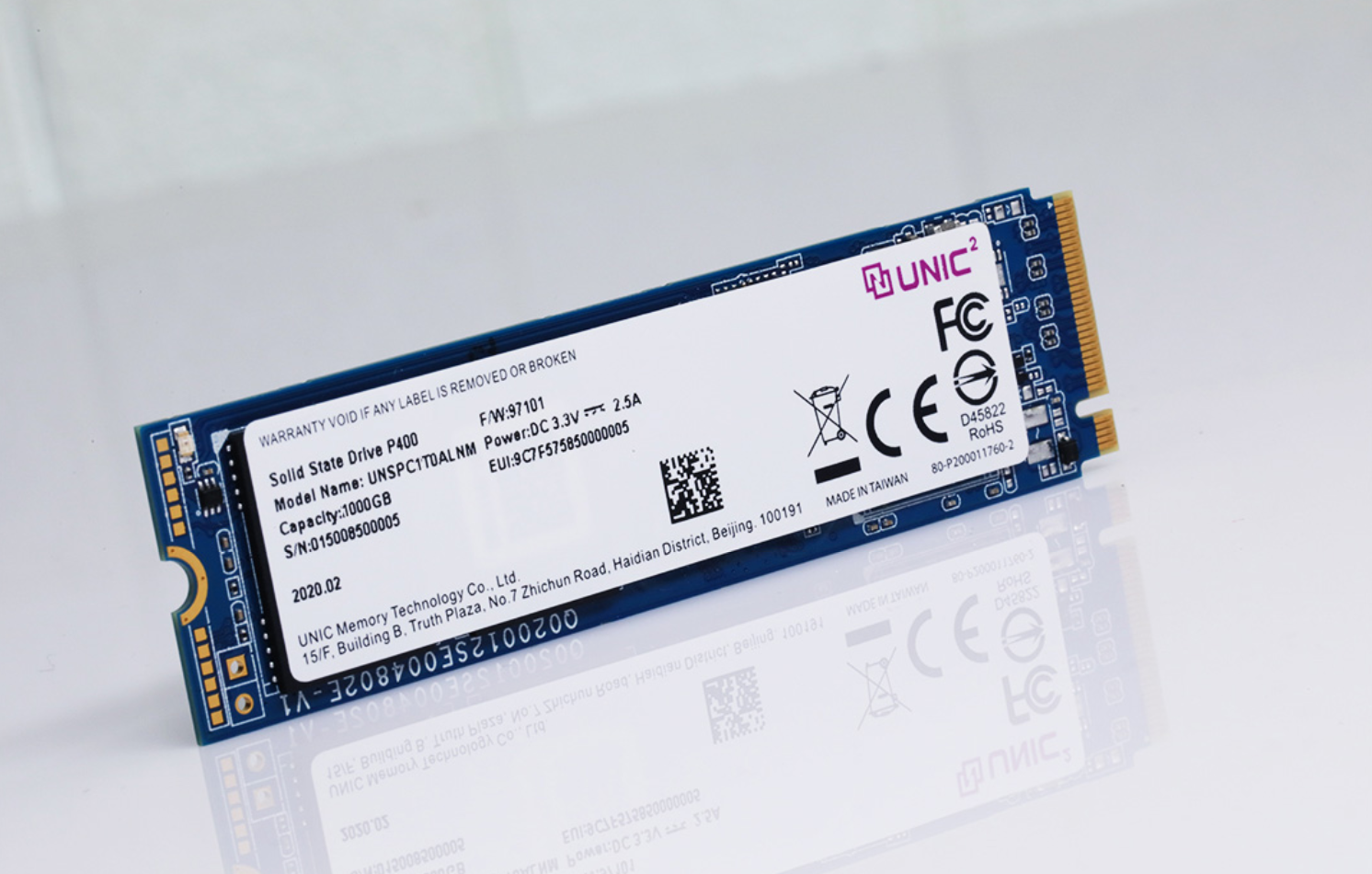 Chinese firm launches PCIe 4.0 SSD with up to 4.5GB/s read speed-cnTechPost