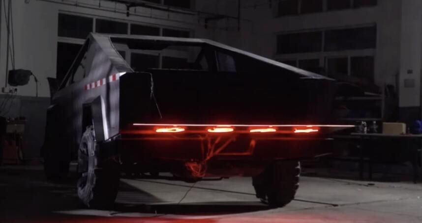 Homemade Tesla Cybertruck went viral in China-cnTechPost