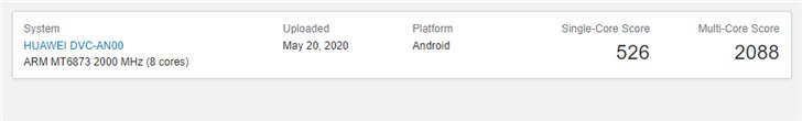 New Huawei phone with MediaTek processor appears in Geekbench-cnTechPost