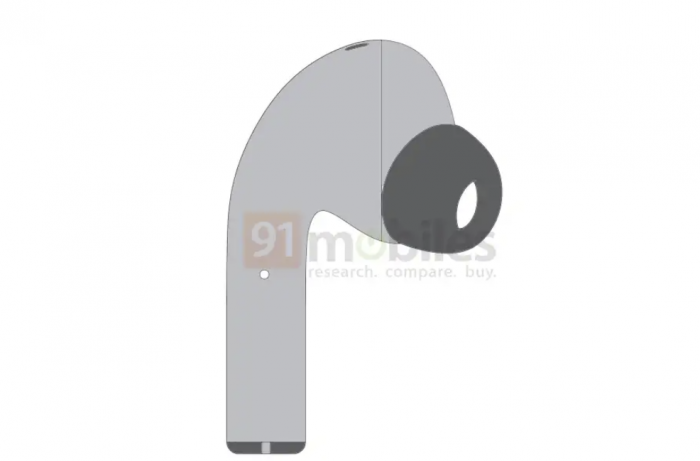 Patent shows Realme's new headphones may adopt AirPods Pro-like design-cnTechPost