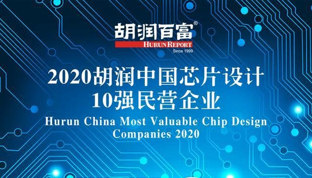 Hurun publishes its first rankings of most valuable chip design companies in China-CnTechPost