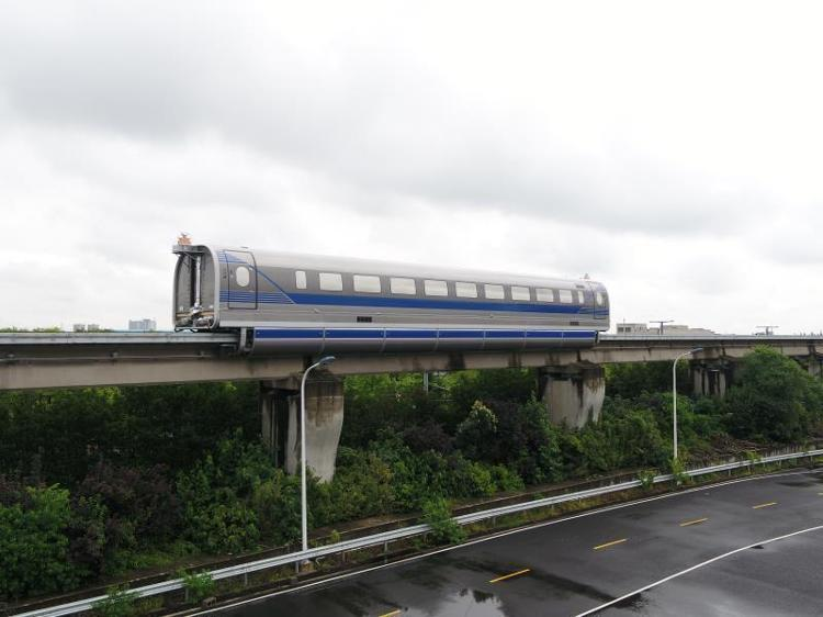 China's 600 km/h high-speed maglev completes test run-cnTechPost