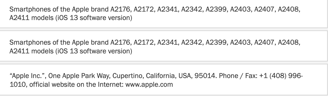 Apple's 9 new phones appear in certification database as iPhone 12 nears-cnTechPost
