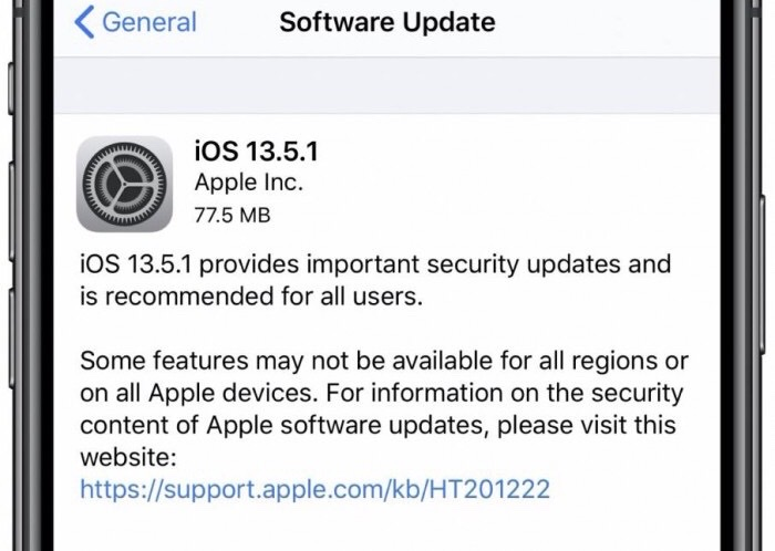 iOS and iPadOS 13.5.1 released, fixing security issues from jailbreak vulnerabilities-cnTechPost