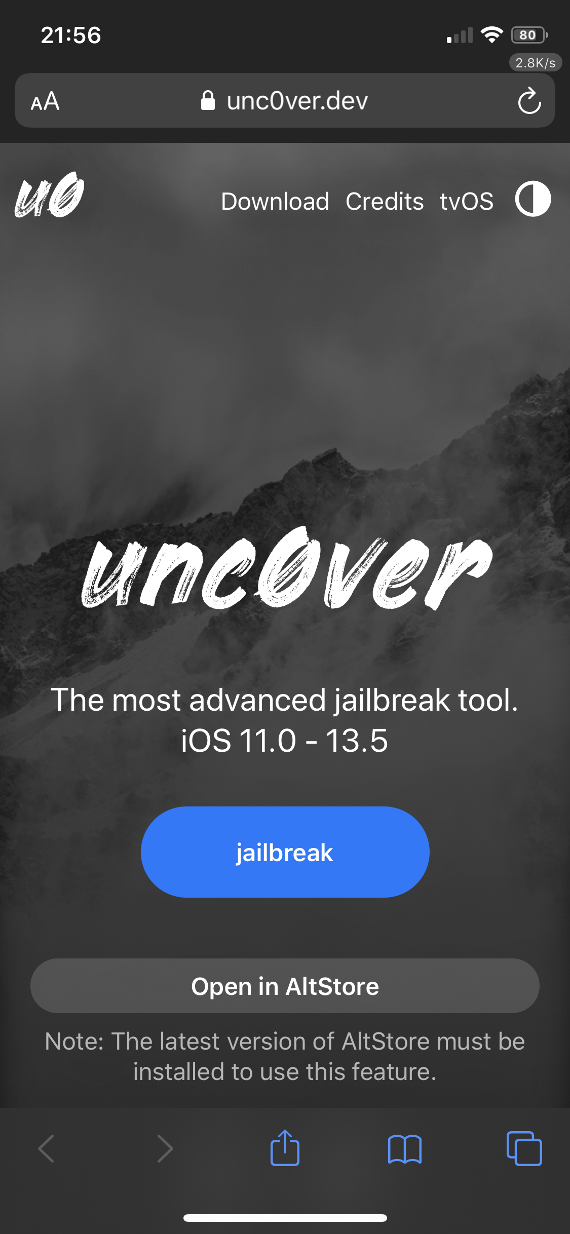 How to jailbreak iOS 13.5 with unc0ver on MacOS-cnTechPost