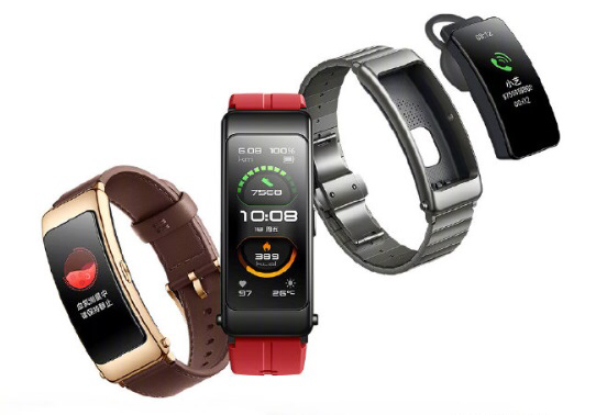 Huawei Band B6, both a band and a Bluetooth headset, released-CnTechPost