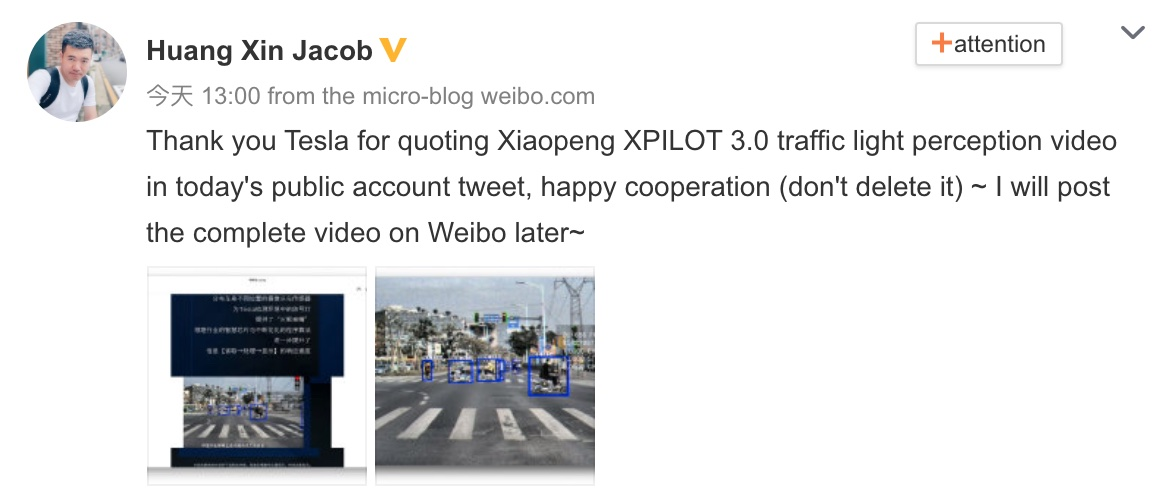 Tesla caught misquoting XPeng's video in article introducing its traffic light recognition capabilities-CnTechPost