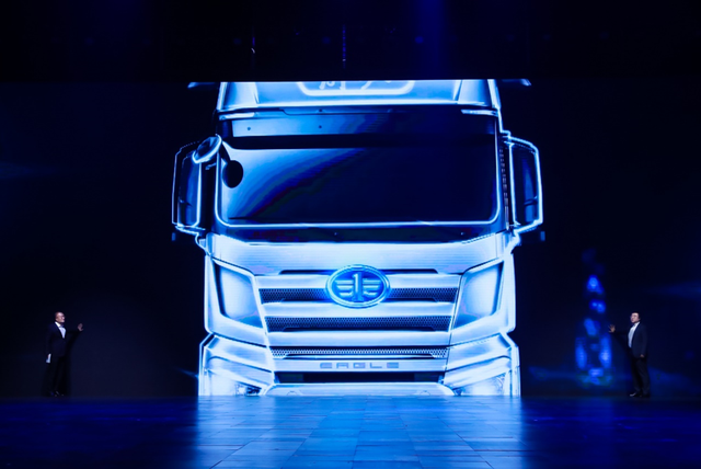 Chinese truck maker FAW Jiefang launches self-driving heavy duty truck capable of L3 autopilot-cnTechPost