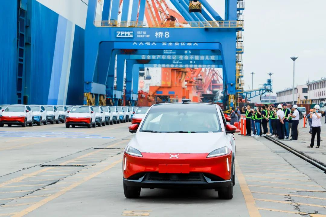 First 100 Xpeng G3i electric cars shipped to Europe, expected to hit the road in Nov-cnTechPost