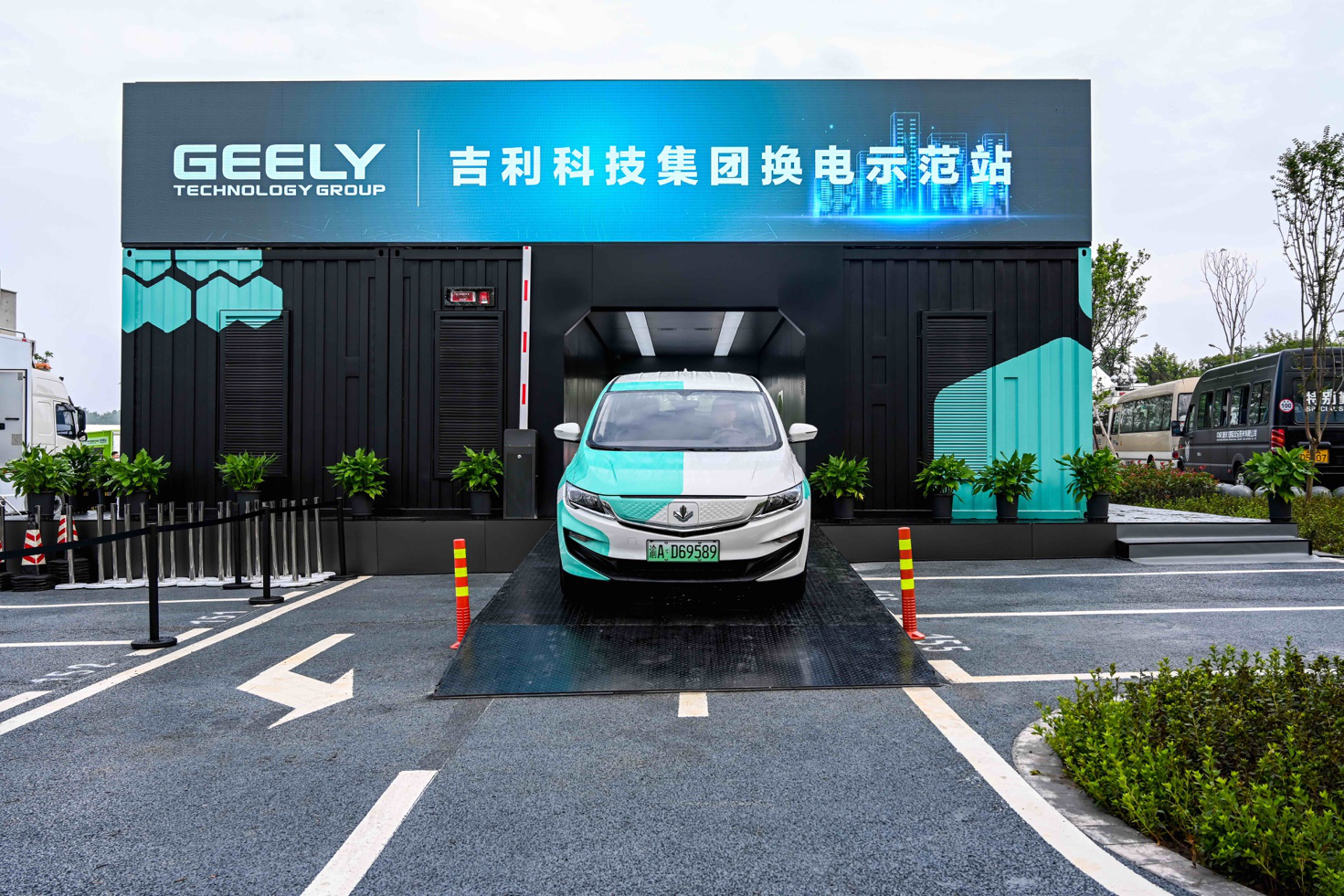 Geely unveils battery swap station in major endorsement of NIO-led technology route-cnTechPost