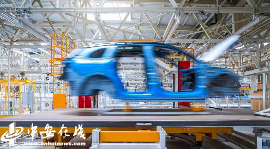 NIO's factory boasts up to 97.5% automation rate-cnTechPost