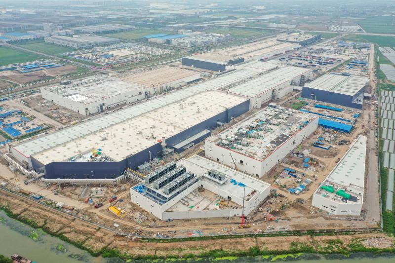 Tesla Shanghai plant phase II main structure completed, Model Y to be mass-produced in Q1-cnTechPost