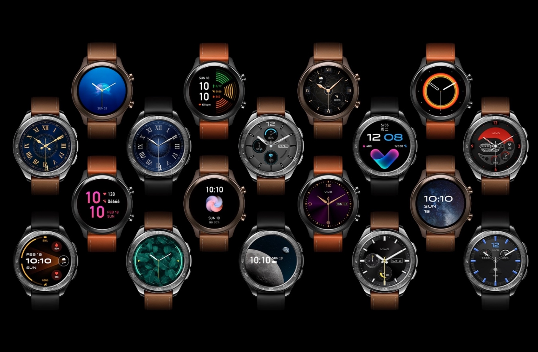 Vivo launches its first smartwatch, supports continuous blood oxygen monitoring-cnTechPost