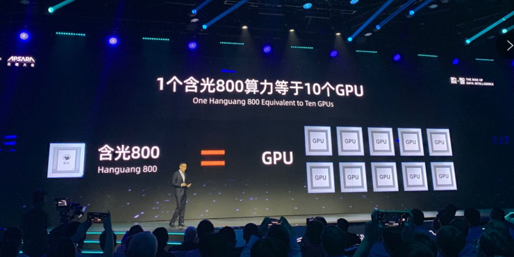 Alibaba's Hanguang 800 AI processor has been put to use, delivering 4-11x better performance than GPUs-cnTechPost