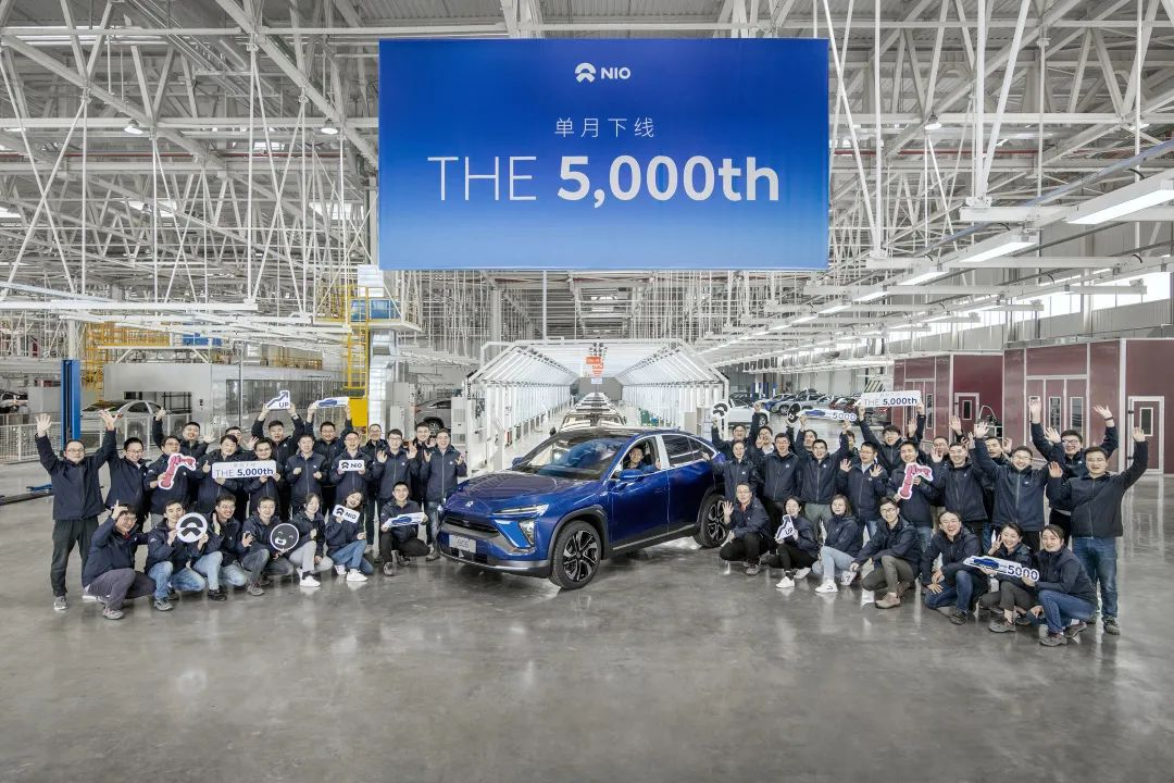 NIO exceeds 5,000 vehicles off the assembly line for first time in a single month-cnTechPost