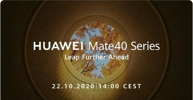 Huawei announces it will hold Mate40 series global launch on Oct 22-cnTechPost