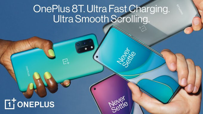 OnePlus 8T launched in overseas markets with Snapdragon 865 processor and 120Hz display-cnTechPost