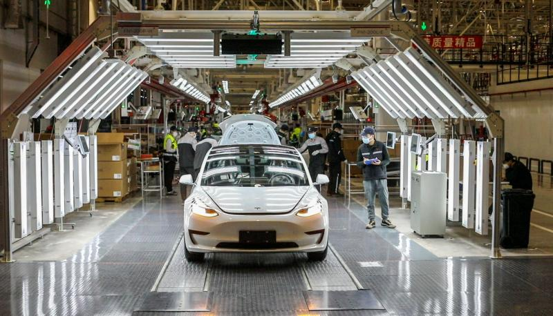 Tesla plans to produce 5,700 Model 3s per week at Shanghai factory-CnTechPost