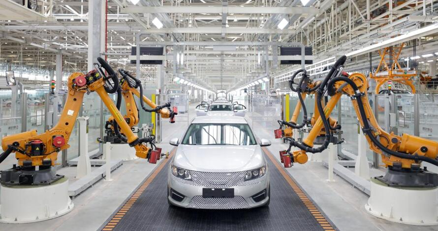 Evergrande's car making arm starts trial production, says it can produce a car per minute in the future-CnTechPost