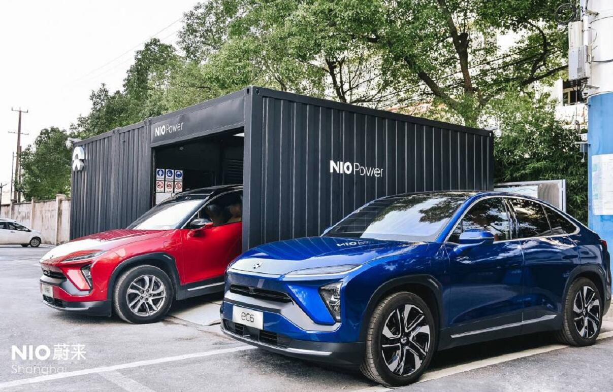 NIO's 163rd battery swap station opens in Shanghai-CnTechPost