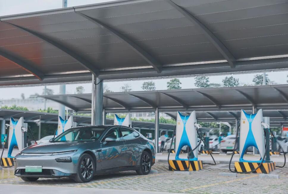 XPeng opens supercharging station at Guangzhou airport-cnTechPost
