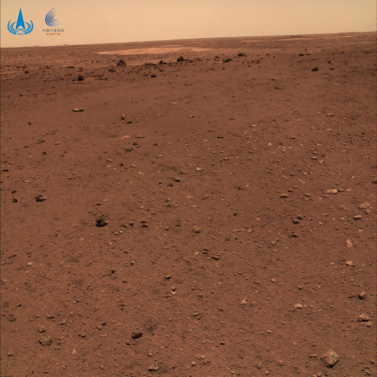 China releases first images taken by Zhurong Mars rover-CnTechPost