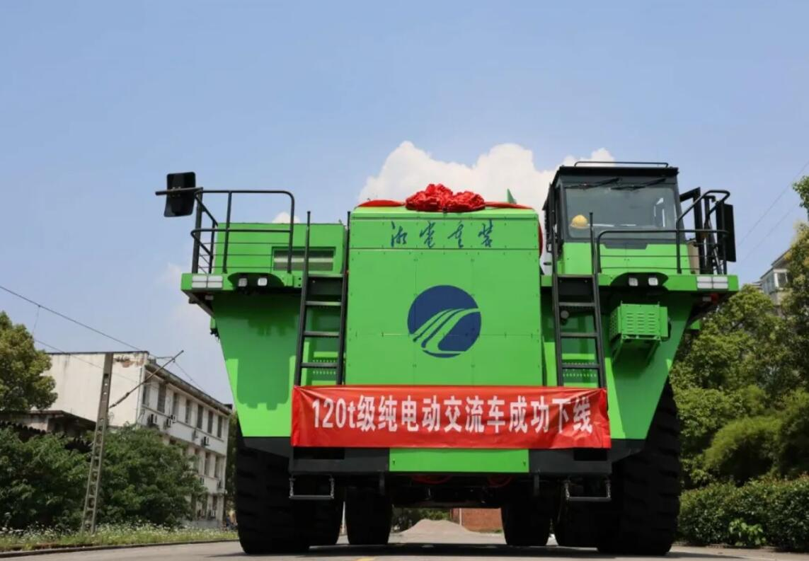 China makes world's first 120-ton pure electric mining dump truck with CATL batteries-CnTechPost