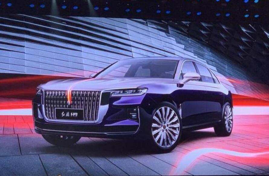 Chinese Car Maker Unveils New Model To Take On Rolls Royce