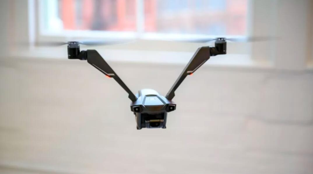This drone has only two propellers, but has a battery life of 50 minutes-cnTechPost