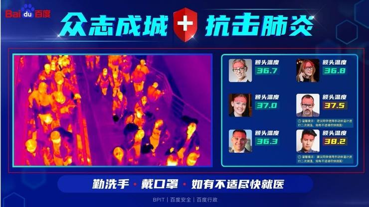 Baidu is using AI to detect abnormal body temperature during new coronavirus outbreak-cnTechPost