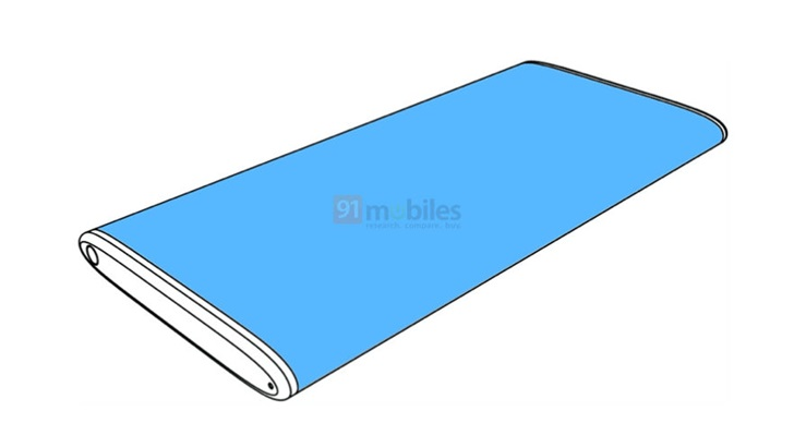 Xiaomi new patent reveals smartphone like MIX Alpha-cnTechPost