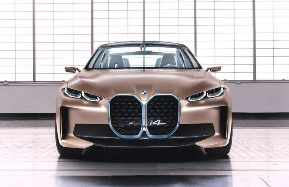 BMW unveils first all-electric concept car i4 with a range of 600 km-CnEVPost