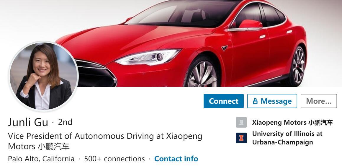 Xpeng Motors autonomous driving vice president resigns-cnEVpost